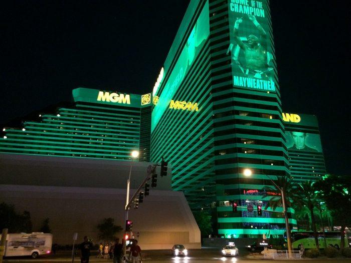 Edificiio frontal de MGM