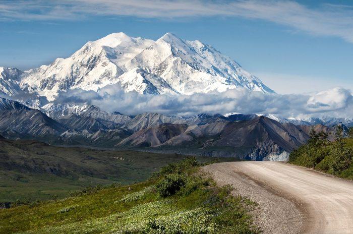 Montañas rocosa de EEUU