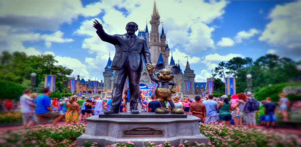 Estatua Disney