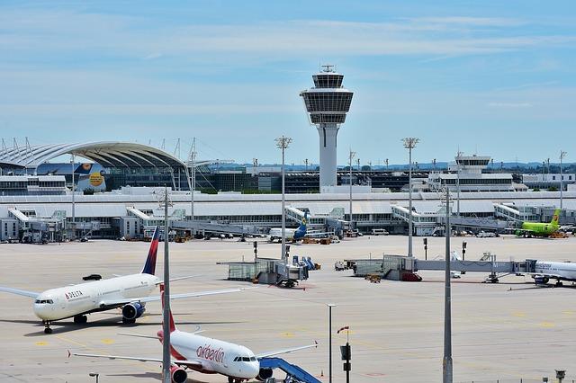los aeropuertos de estados unidos