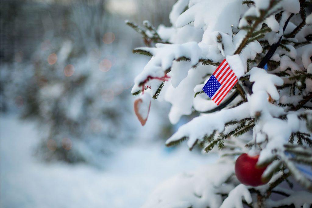 la nieve en estados unidos